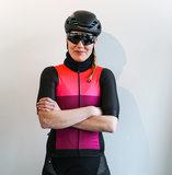 Biehler Damen Pro Team Leuchtstoff Radtrikot maat S_