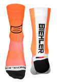 Biehler fietssokken Coolmax high cut orange_